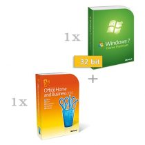 Microsoft Windows 7 Home Premium 32 bit magyar (HUN) + Microsoft Office 2010 Home & Business