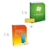 Microsoft Windows 7 Home Premium 64 bit magyar (HUN) + Microsoft Office 2010 Home & Business