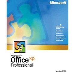 Microsoft Office 2002 XP Professional Volumen Licence magyar (HUN)