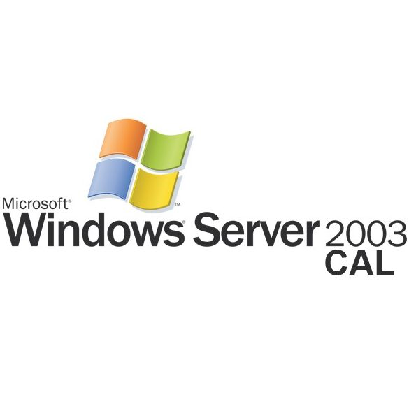 Microsoft Windows 2003 Server 5 USER CAL angol (EN)